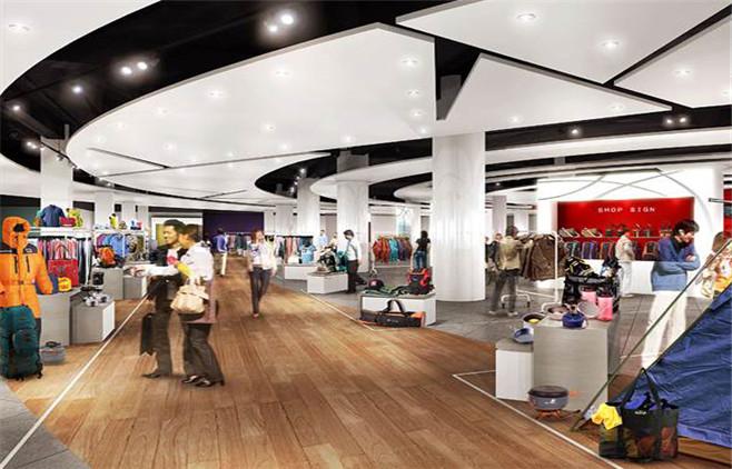 商场设计|百货商场设计|卖场设计|商业空间设计|北京图片